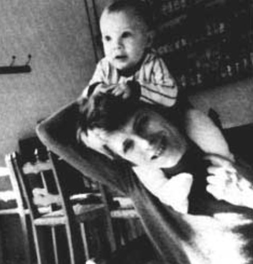 David Bowie with his son Duncan (Zowie)